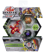 Bakugan Starter Pack 3-Pack Howlkor Ultra Armored Alliance Collectible Action Figures