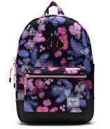 Herschel Supply Heritage Youth Blurry Floral/Black Crosshatch