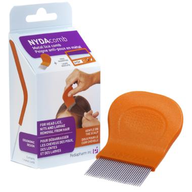 NYDAcomb Metal Lice Comb