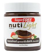 Tartinade NutiLight au chocolat noir et aux noisettes