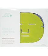 100% Pure Green Tea Water Bomb Face Mask 5 Pack