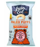 LesserEvil Paleo Soufflés au fromage « sans fromage »