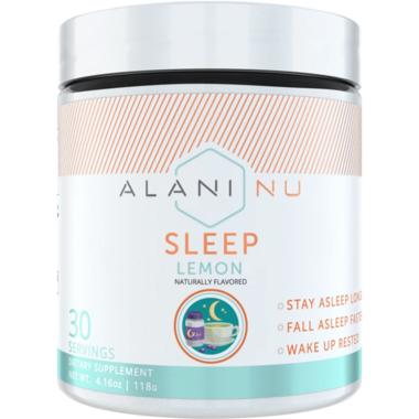 Alani Nu Sleep Lemon