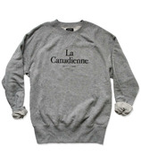 Province of Canada La Canadienne Womens French Terry Crewneck Heather Grey