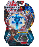 Bakugan Ultra Aquos Cloptor 3-inch Collectible Action Figure & Trading Card