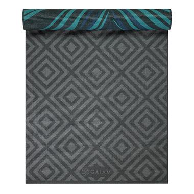 Gaiam Reversible Print Yoga Mat