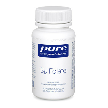 Pure Encapsulations B12 Folate