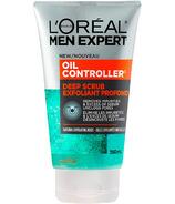 L'Oréal Paris Men Expert nettoyant visage gommage contrôle d'huile