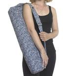 Samyoga Handmade Yoga Mat Bag Navy Arrow