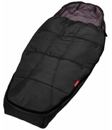 Phil & Teds Snuggle and Snooze Sleeping Bag All Black