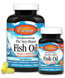 Carlson The Very Finest Norwegian Fish Oil Orange Bonus Pack