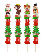 Allison's Christmas Candy Kabob