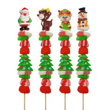 Allison\'s Christmas Candy Kabob