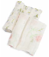 Little Unicorn Deluxe Muslin Swaddle Set Pink Peony