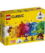 LEGO Classic Bricks and Houses Kids' Building Kit Starter Set