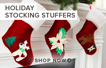 Save up to 25% off Stocking Stuffers