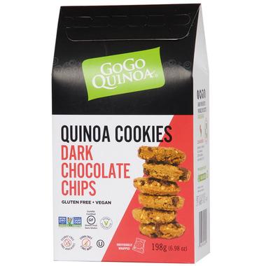 GoGo Quinoa Dark Chocolate Chip Cookies