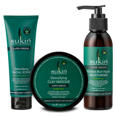 Sukin Super Greens Gift Pack