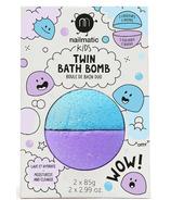 Nailmatic Twin Bath Bomb Bleu et Violet