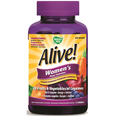 Nature\'s Way Alive Women\'s Gummy Vitamins