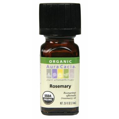 Aura Cacia Organic Rosemary Essential Oil