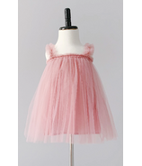Bluish Baby Avery Tutu Dress Rose