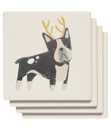 Now Designs Soak Up Coaster Yule Dogs