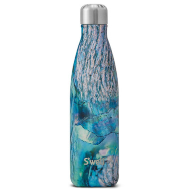 S\'well The Elements Collection Stainless Steel Water Bottle Paua Shell