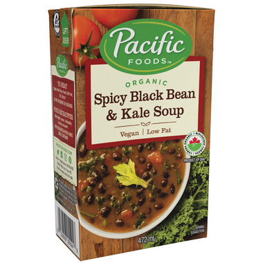 Pacific Organic Spicy Black Bean & Kale Soup