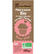 Mirontaine Organic Fondant Sugar Paste Pink