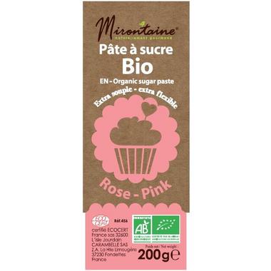 Mirontaine Organic Fondant Sugar Paste Pink
