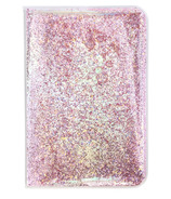 Yoobi Journal Pink Glitter