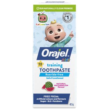 Orajel Cocomelon Training Toothpaste