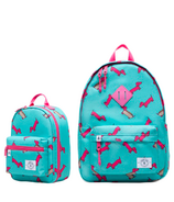 Parkland Backpack and Lunch Kit Bundle Hot Pink Hot Dog