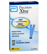 Precision Xtra Glucose Test Strips