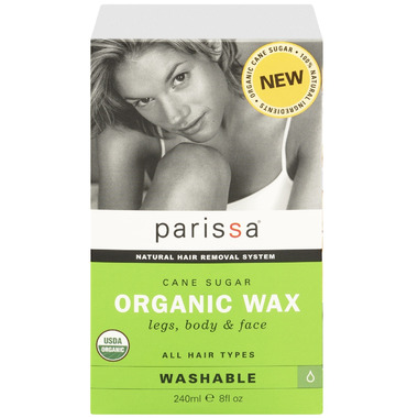 Parissa Cane Sugar Organic Wax for Legs, Body & Face