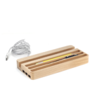 Kikkerland Desk Organizer with USB