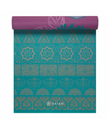 Gaiam Premium Printed Reversible Yoga Mat 5 mm Kiku