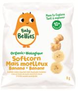 Baby Bellies Organic Banana Soft Corn Puffs