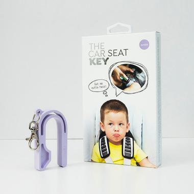 The Car Seat Key Purple