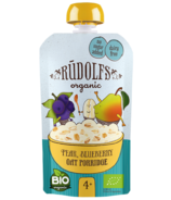 Rudolfs Organic Pear Blueberry Oat Porridge