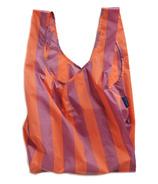 Baggu Standard Baggu Orange & Mauve Strip