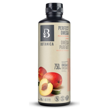 Botanica Omegalicious Peach Mango High Potency Fish Oil