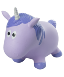 Fantasy Hoppers Inflatable Bouncing Unicorn Purple