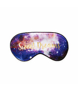 Kikkerland Ultra Soft Sleep Mask Sweet Dreams