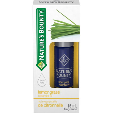 Nature\'s Bounty Essential Oil Lemongrass