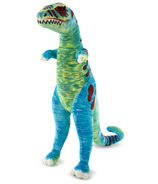 Melissa & Doug Jumbo T-Rex Dinosaur Lifelike Stuffed Animal