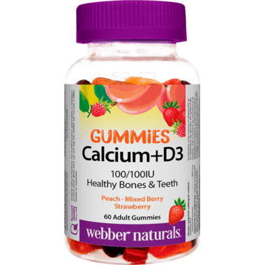 Webber Naturals Calcium + D3