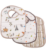 Little Unicorn Cotton Classic Bibs Forest Friends