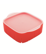 Tovolo Rinse 'N' Store Berry Colander Red